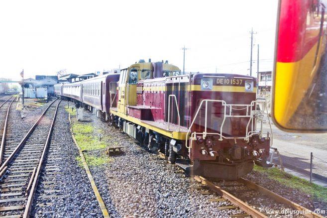 รถไฟแบบ Dolly Watase Valley
