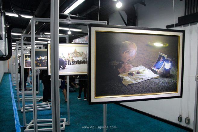 """นิทรรศการภาพเกียรติยศของแผ่นดิน """"๙ สู่สวรรคาลัย - Journey to heaven"""""""