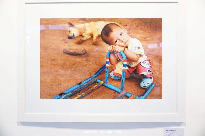 """""""เพื่อนของหนู...มีหูสี่ขา"""" ภาพถ่ายโดย คุณจิรฐา นรพิทยนารถ บริเวณชั้น 4 หอศิลปวัฒนธรรมแห่งกรุงเทพมหานคร"""