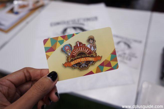 บัตรสมาชิก ONE PIECE MUGIWARA STORE BANGKOK (เวอร์ชั่นใหม่)