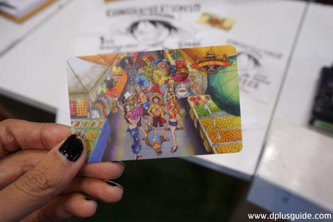 บัตรสมาชิก ONE PIECE MUGIWARA STORE BANGKOK (เวอร์ชั่นเก่า)