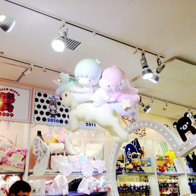 เที่ยวโตเกียว สินค้าซานริโอ (Sanrio) ที่ตึก KIDDY LAND