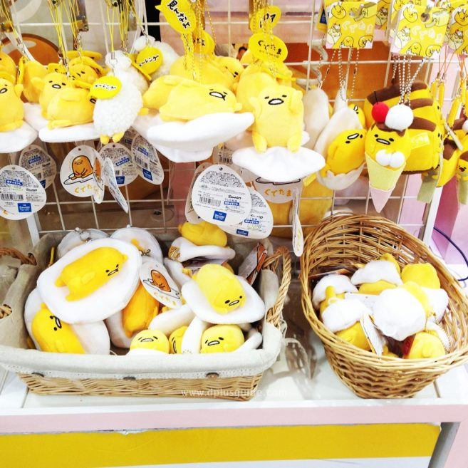 เที่ยวโตเกียว สินค้าไข่ขี้เกียจ กุเดะทามะ (Gudetama) ที่ตึก KIDDY LAND