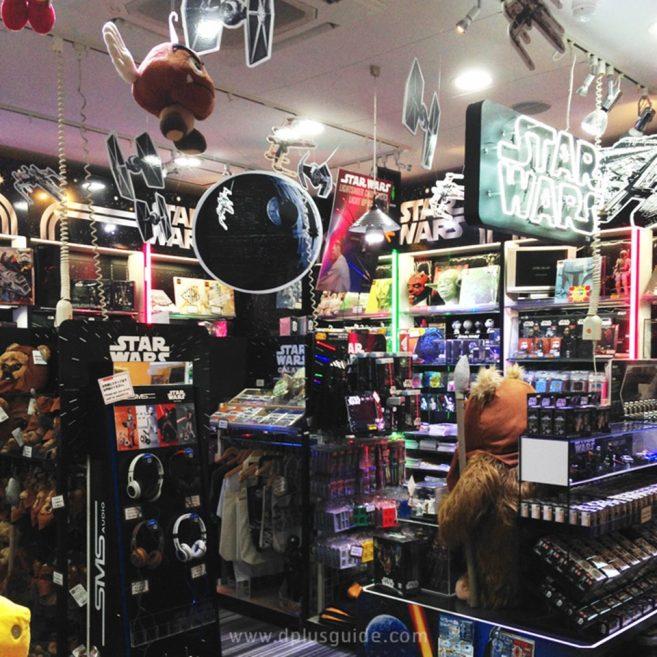 เที่ยวโตเกียว สินค้าจากเรื่องสตาร์วอร์ส (Star Wars) ที่ตึก KIDDY LAND