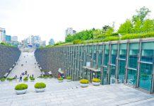 เที่ยวโซล สารพัดมุมถ่ายรูปเก๋ไก๋ที่มหาวิทยาลัยอีฮวา (Ewha Womans University) เกาหลีใต้