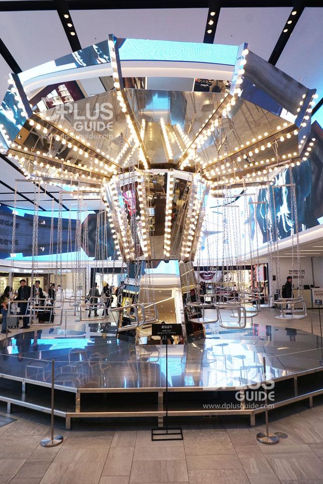 ชั้นที่ 8 ของห้าง Shinsegae ค่ะ ตามรอยซีรีย์ The Legend of Blue Sea