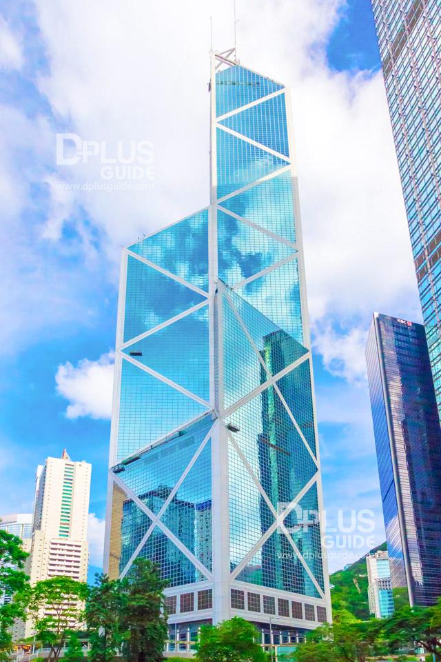 ตึก Bank of China อีกหนึ่งแลนด์มาร์กของฮ่องกง