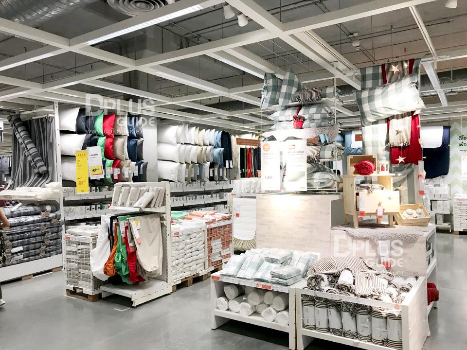 โซนเครื่องนอน ที่อีเกีย (IKEA) เมกาบางนา