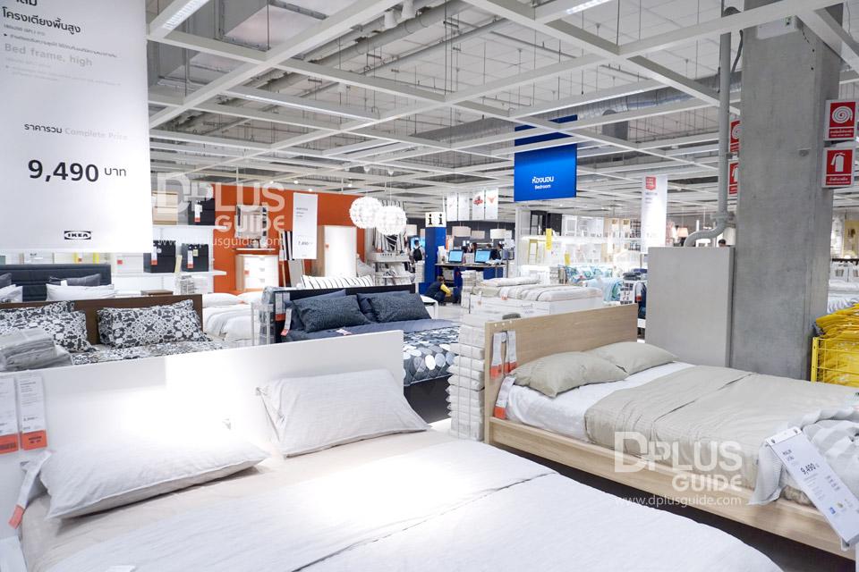 โซนห้องนอนที่อีเกีย (IKEA) เมกาบางนา