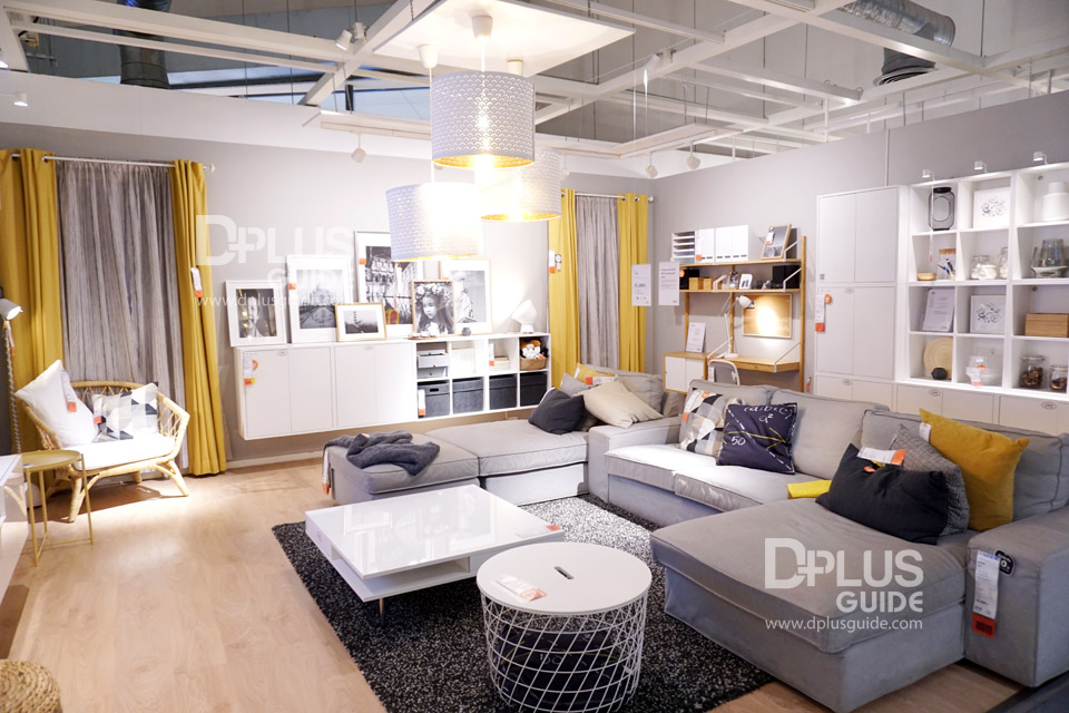 โซนห้องนั่งเล่น ที่อีเกีย (IKEA) เมกาบางนา