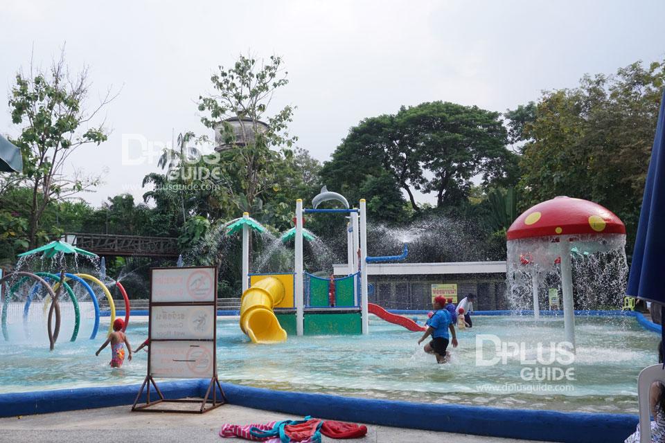 สวนน้ำช้างน้อย สวนสัตว์ดุสิต (Dusit Zoo)