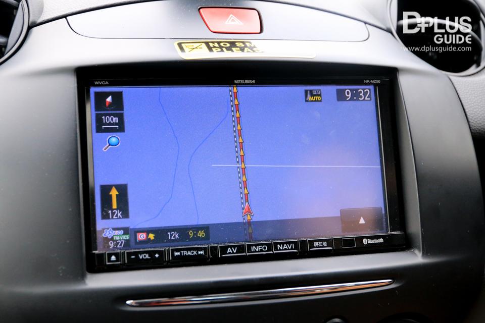 ระบบ GPS บนรถเช่าของญี่ปุ่น