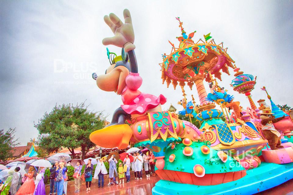 ขบวนพาเหรดที่ Tokyo Disney Resort