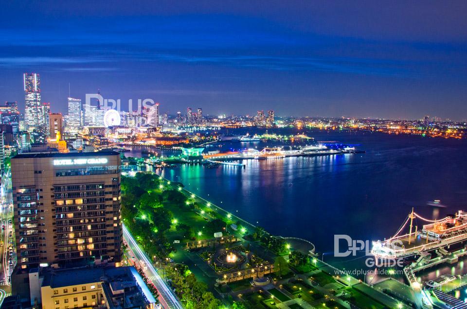 Yokohama Marine Tower หอคอยชมวิวของเมืองโยโกฮาม่า