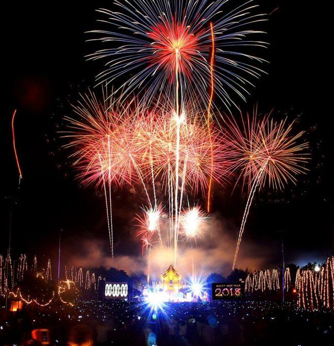 เที่ยวไทยปีใหม่นี้ เคาน์ดาวน์ที่อุทยานหลวงราชพฤกษ์ เทศกาลชมสวน Flora Festival 2017