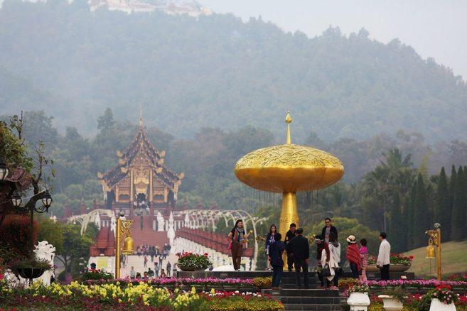 แนะนำที่เที่ยวไทยปีใหม่นี้ เคาน์ดาวน์ที่อุทยานหลวงราชพฤกษ์ สิ้นปีนี้เพิ่มพรรณไม้เมืองหนาว ชมทิวลิป-กล้วยไม้กว่าหมื่นต้น พร้อมนิทรรศการในหลวง รัชกาลที่ 9
