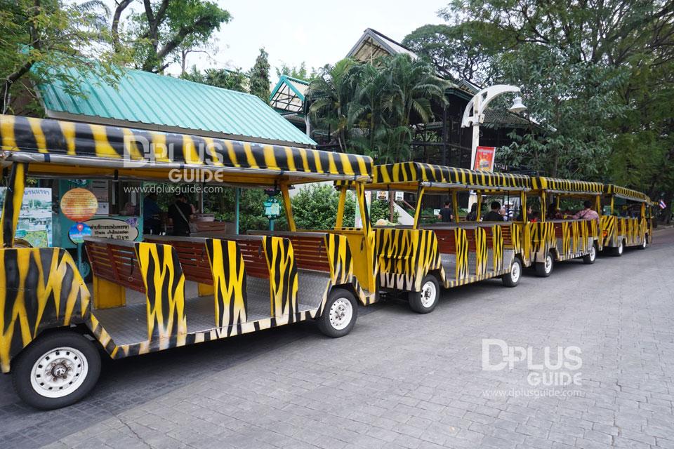 หน้าตารถพ่วง สวนสัตว์ดุสิต (Dusit Zoo)