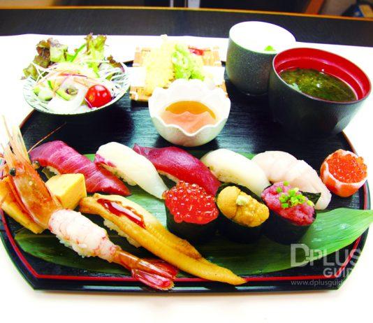 เที่ยวโตเกียว ต้องไม่พลาดชิมซูชิ ร้าน Umai Sushikan สาขา Ginza 2 Chome