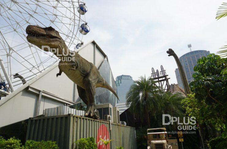เที่ยวกรุงเทพฯ ย่าน BTS พร้อมพงษ์ ข้ามกาลเวลาไปหาไดโนเสาร์ ที่ Dinosaur Planet