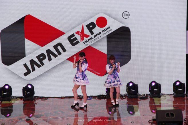 สองสาวจาก TOKYOflavor โชว์เริ่มต้นงานที่เวที Culture Stage