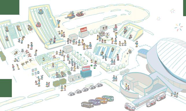 เทศกาลหิมะซัปโปโระ ฝั่งซึโดเมะ(Tsudome site)