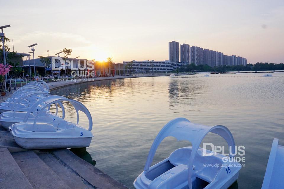 ทะเลสาบเมืองทองธานี