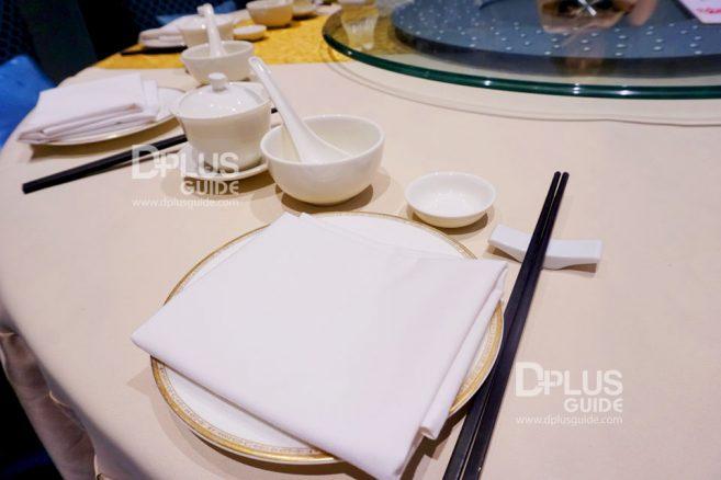 ห้องอาหาร DRAGON Luxury Chinese Cuisine โรงแรมมิราเคิล แกรนด์ คอนเวนชั่น