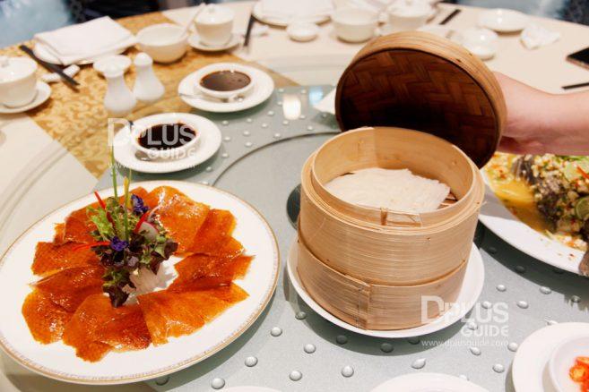 เป็ดปักกิ่ง ห้องอาหารจีนดราก้อนDRAGON Luxury Chinese Cuisine