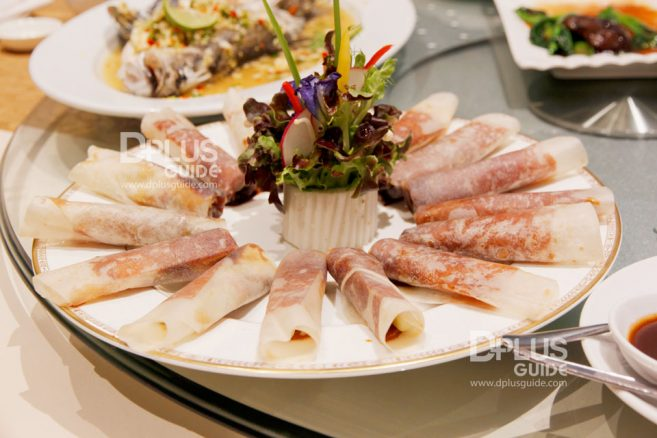 เป็ดปักกิ่ง เมนู Recommend ห้องอาหารจีนดราก้อนDRAGON Luxury Chinese Cuisine