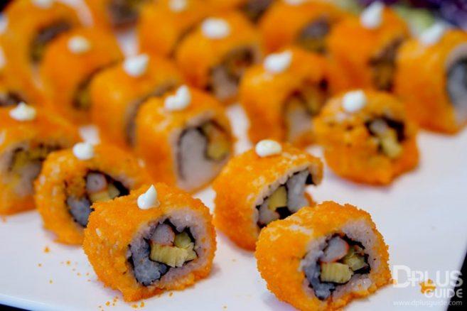อาหารญี่ปุ่นใน MIRACLE LOUNGE มิราเคิล เลานจ์สาขาดอนเมือง
