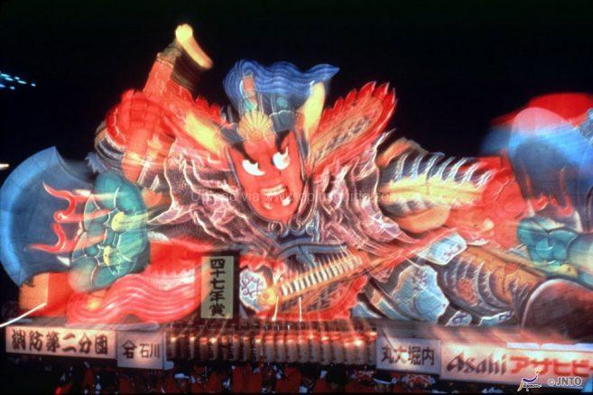 เทศกาลแห่หุ่นโคมไฟ Nebuta ของเมืองอาโอโมริมีชื่อมากที่สุดในญี่ปุ่น