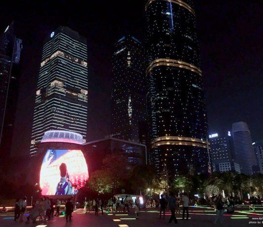 เดินชิลย่านเมืองใหม่ Zhujiang New Town