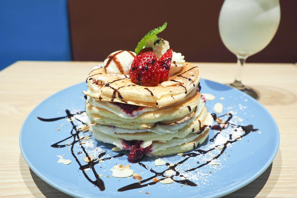 belle-ville pancake cafe แพนเค้กต้นตำรับส่งตรงจากโอซาก้า