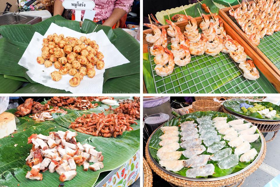 รูปอาหารงาน Krungthep Thara